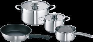 Bosch HEZ390042 Four Piece Induction Pan Set