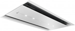 Neff N90 90cm White Glass Ceiling Hood I97CPS8W5B