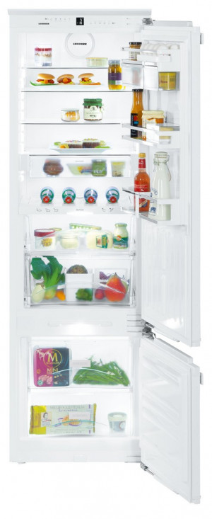 Liebherr ICBP3266 Built-In Premium BioFresh White Fridge Freezer