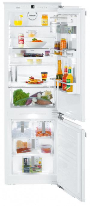 Liebherr ICN3386 Built-In Premium NoFrost White Fridge Freezer
