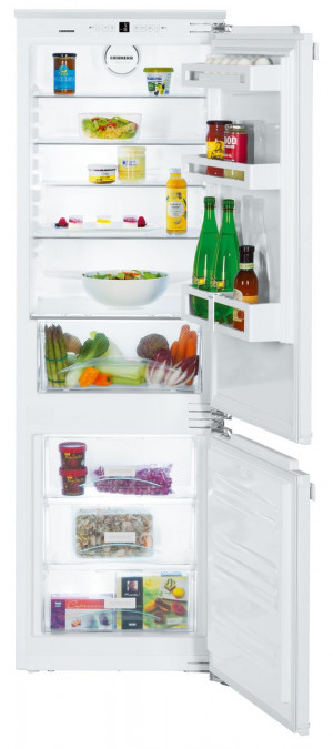 Liebherr ICP3324 Built-In Comfort SmartFrost White Fridge Freezer