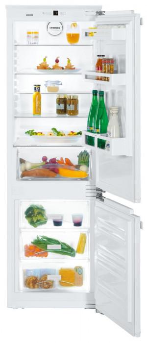 Liebherr ICU3324 Built-In Comfort SmartFrost White Fridge Freezer