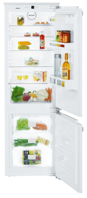 Liebherr ICUN3324 Built-In Comfort NoFrost White Fridge Freezer
