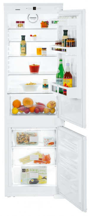 Liebherr ICUNS3324 Built-In Comfort NoFrost White Fridge Freezer