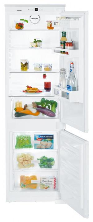 Liebherr ICUS3324 Built-In Comfort SmartFrost White Fridge Freezer