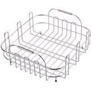 Stainless Steel Large Benchtop Draining Basket - KA38SS