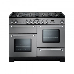 Rangemaster Kitchener 110 Dual Fuel Stainless Steel Range Cooker KCH110DFFSS/C 98830