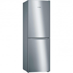 Bosch Serie 2 KGN34NLEAG 297 Litre A++ Rated Stainless Steel Fridge Freezer