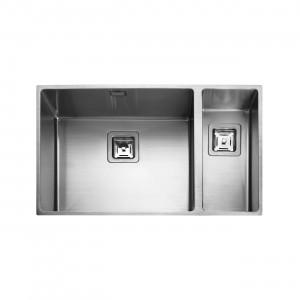 Rangemaster Kube KUB5018R/ 1.5 Bowl Undermount Sink Right