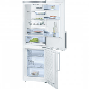 Bosch Serie 6 KGE36BW41G Freestanding White 302 Litre A+++ Rated Fridge Freezer
