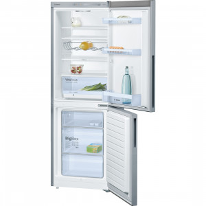 Bosch Serie 4 KGV33VL31G Freestanding Stainless Steel Fridge Freezer