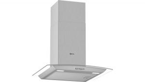 Neff N30 60cm Stainless Steel Glass Chimney Hood D64ABC0N0B