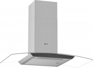 Neff N50 90cm Stainless Steel Glass Chimney Hood D94AFM1N0B