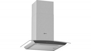 Neff N50 60cm Stainless Steel Glass Chimney Hood D64AFM1N0B