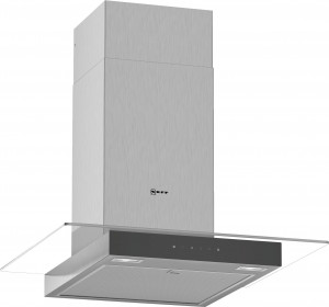 Neff N50 60cm Stainless Steel Glass Chimney Hood D64GFM1N0B
