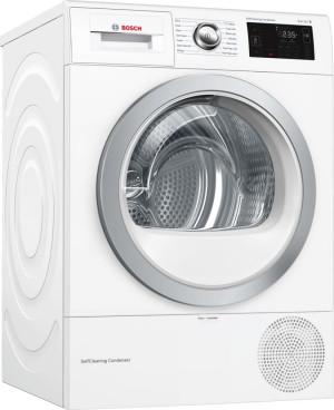 Bosch Serie 6 WTWH7660GB Freestanding White Condenser Tumble Dryer