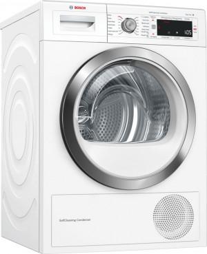 Bosch Serie 8 WTW87561GB Freestanding White Condenser 9kg A++ Tumble Dryer