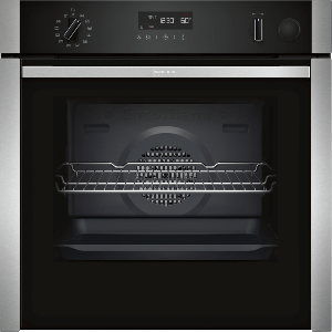 Neff N50 Slide & Hide Pyrolytic Single Oven With VarioSteam B5AVH6AH0B