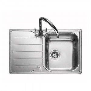 Rangemaster Michigan MG8001/ Single Bowl Stainless Steel Sink