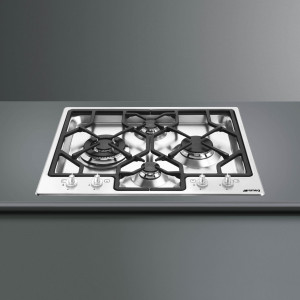 Smeg Classic 60 Stainless Steel Ultra Low Profile Gas Hob
