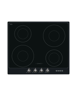 Smeg Victoria 60 Induction Hob with Black Frame