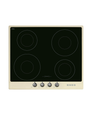 Smeg Victoria 60 Induction Hob with Cream Frame