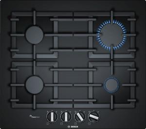 Bosch Serie 6 PPP6A6B90 Black Gas Hob