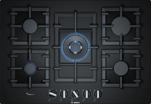 Bosch Serie 6 PPQ7A6B90 Black Gas Hob