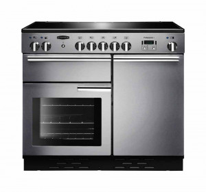 Rangemaster Professional Plus 100 Ceramic Stainless Steel Range Cooker PROP100ECSS/C 112350
