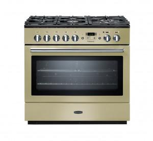 Rangemaster Professional Plus 90 FX Dual Fuel Cream Range Cooker PROP90FXDFFCR/C 91120