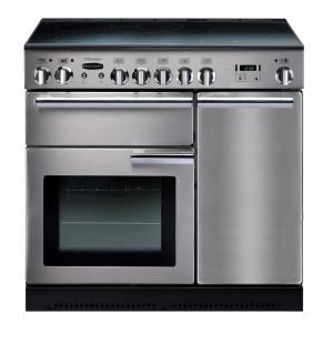 Rangemaster Professional Plus 90 Ceramic Stainless Steel Range Cooker PROP90ECCSS/C 83450