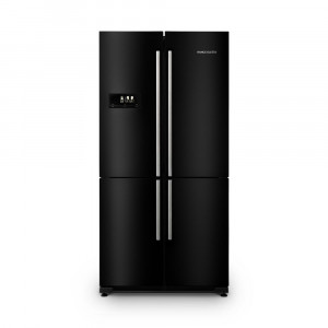 Rangemaster RSXS18BL/C Four Door Black 560 Litre A+ Rated Fridge Freezer 11907