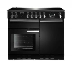 Rangemaster Professional Plus 100 Induction Black Range Cooker PROP100EIGB/C 96030