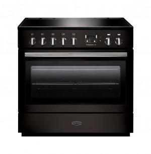 Rangemaster Professional Plus FX 90 Induction Black Range Cooker PROP90FXEIGB/C 96310