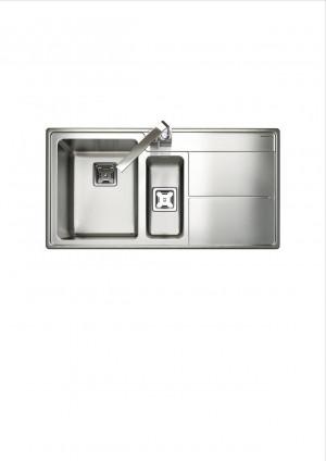 Arlington 1 1/2 Bowl Sink AR9852 Right