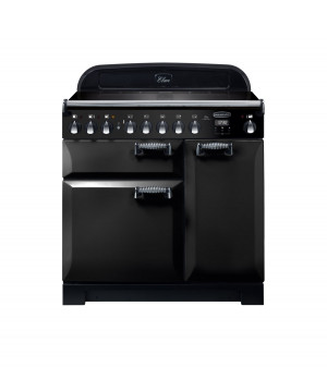 Rangemaster Elan Deluxe 90 Induction Black Range Cooker ELA90EIBL/ 118400