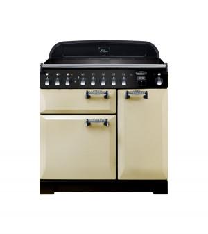 Rangemaster Elan Deluxe 90 Induction Cream Range Cooker ELA90EICR/ 118410