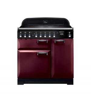 Rangemaster Elan Deluxe 90 Induction Cranberry Range Cooker ELA90EICY/ 118430