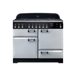 Rangemaster Elan Deluxe 110 Dual Fuel Royal Pearl Range Cooker ELA110DFFRP/ 118020