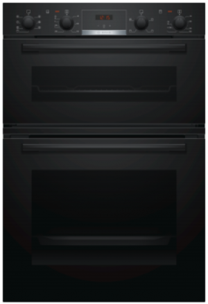 Bosch Serie 4 Built In Brushed Steel Double Oven MBS533BB0B