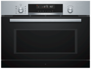 Bosch Serie 6 Compact 45cm Microwave Combination Oven CPA565GS0B