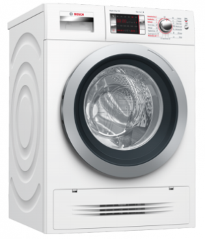 Bosch Front Loading White Washer Dryer WVH28424GB