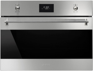 Smeg SF4309MX Classic Stainless Steel Compact Microwave Oven