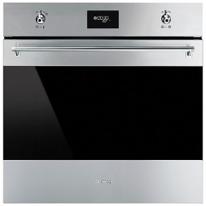Smeg SFP6378X Classic Built-In Pyrolytic 60 Stainless Steel Single Oven