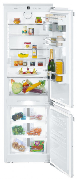 Liebherr SICN3386 Built-In Premium NoFrost White Fridge Freezer
