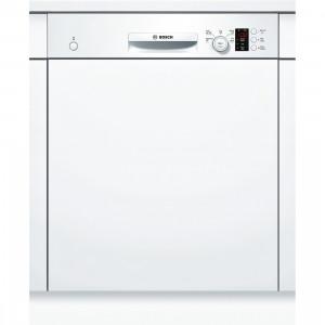 Bosch Serie 4 SMI50C12GB White Semi-Integrated Dishwasher