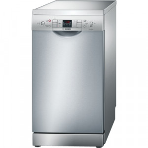 Bosch Serie 6 SPS53M08GB 45cm Silver Slimline Freestanding Dishwasher
