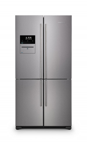 Rangemaster SXS Deluxe 556 Litre A+ Rated Stainless Steel Fridge Freezer RSXS19SS/C