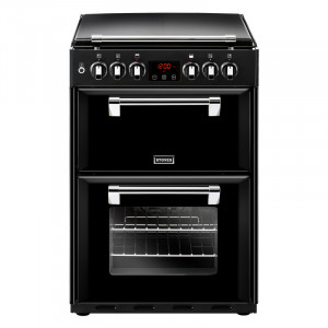 Stoves Richmond 600DF Black Dual Fuel Mini Range Cooker
