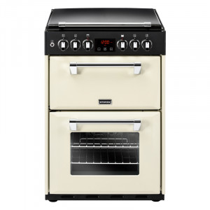 Stoves Richmond 600DF Cream Dual Fuel Mini Range Cooker